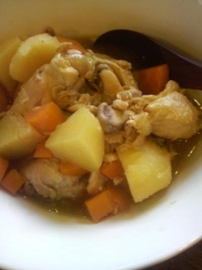 鶏手羽とじゃがいものすっぱ煮