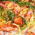 夏にぴったり!簡単!塩鮭と大葉のちらし寿司