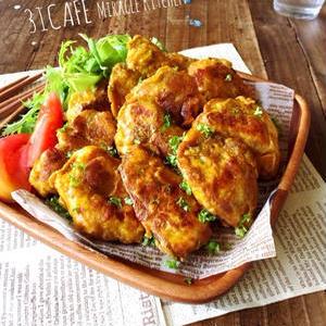 お肉でもお魚でもOK!お弁当にぴったりのカレー味ピカタを作ろう♪