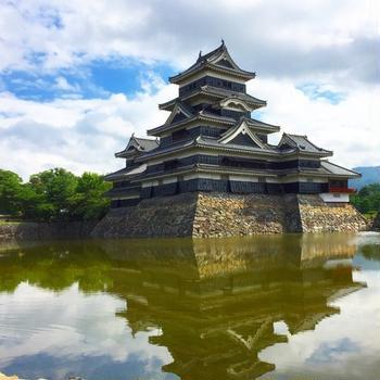 日本100名城 国宝 松本城