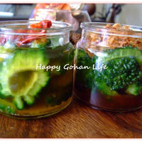 ゴーヤの常備菜。ジャパン&ベトナム。