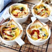 トースターで簡単♪包丁・フライパン不要♪ 【サクサク♪パンキッシュ】#ウワサのお客さま紹介レシピ