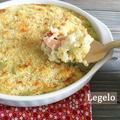 クリーミー マッシュポテト と鮭のオーブン焼き☆早朝の海水浴場♪ by Legeloさん