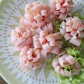 【お弁当の小技!!】もう失敗しない!!きれいな花ハムの作り方~How to make flower ham by Nigiricco*さん