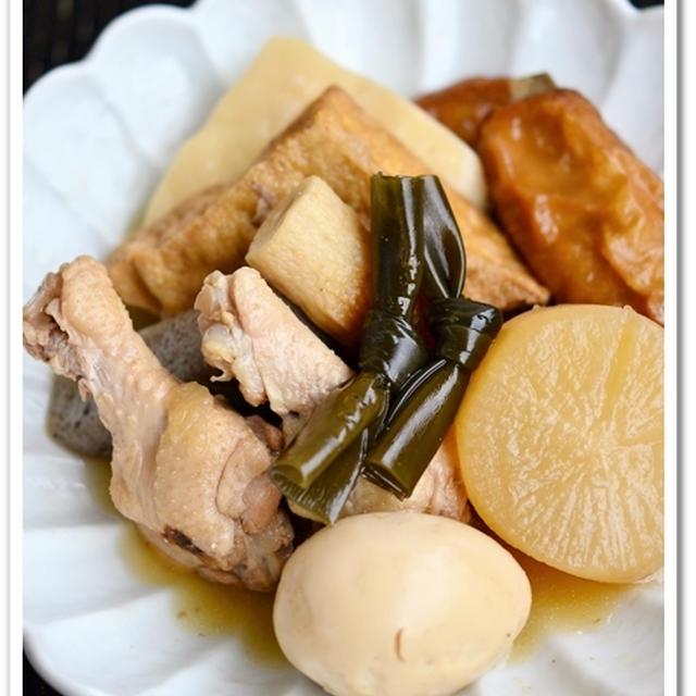 鶏だしベースのおでん【作りおきレシピ】