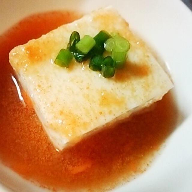 簡単ヘルシー冬野菜膳、豆腐の紅葉餡かけ、トマトとレタスの煮びたし、黒そい煮付