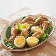 [スパイス大使レシピ]鶏手羽元の八角煮込み。。。