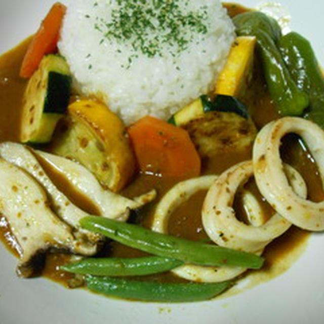 カラフル焼き野菜のカレー☆