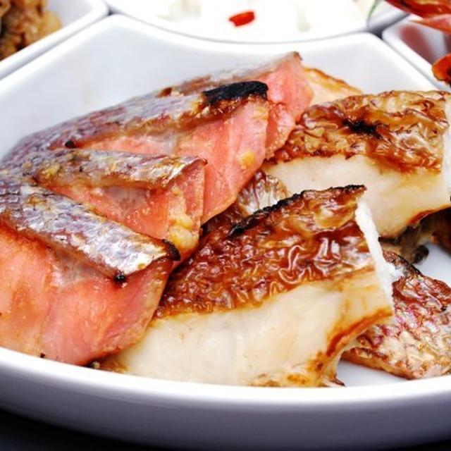 2013年 おせち料理 サーモンの味噌漬け焼き