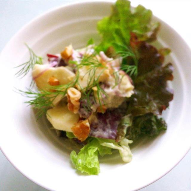 さつま芋のフレンチサラダ
