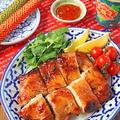 漬けて焼くだけ簡単♪家族が大好き鶏肉料理!ガイヤーン♪