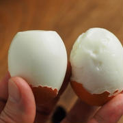 メシ通!ゆで卵の殻を簡単にむく方法
