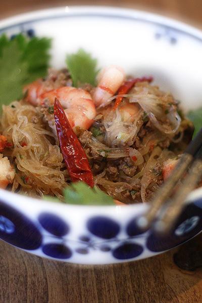 Yum Un Sen、タイ風春雨サラダ