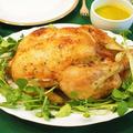 実家伝統の味。クリスマスのレバースタッフ入り丸鶏ローストチキン(詳細レシピ付)。