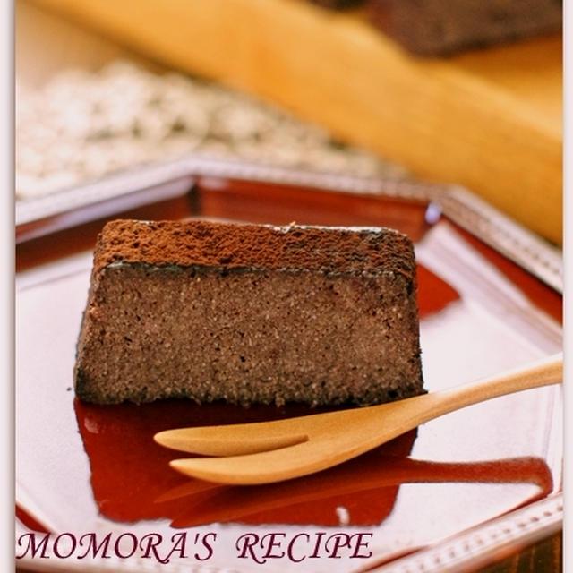 レンジで超簡単15分お菓子♪おからと豆腐のヘルシーチョコレートケーキ/ココアケーキ♡春休みにも&寝不足ニャンコ