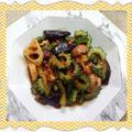 スイートチリ&食べるラー油のピリ辛ゴーヤチャンプルー(レシピ付) by kajuさん