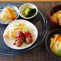 帆立貝の炊き込みが好評でした☆レンジde簡単手作りソーセージ♪☆♪☆♪