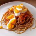 アンチョビとゆで卵のアーリオ・オーリオ