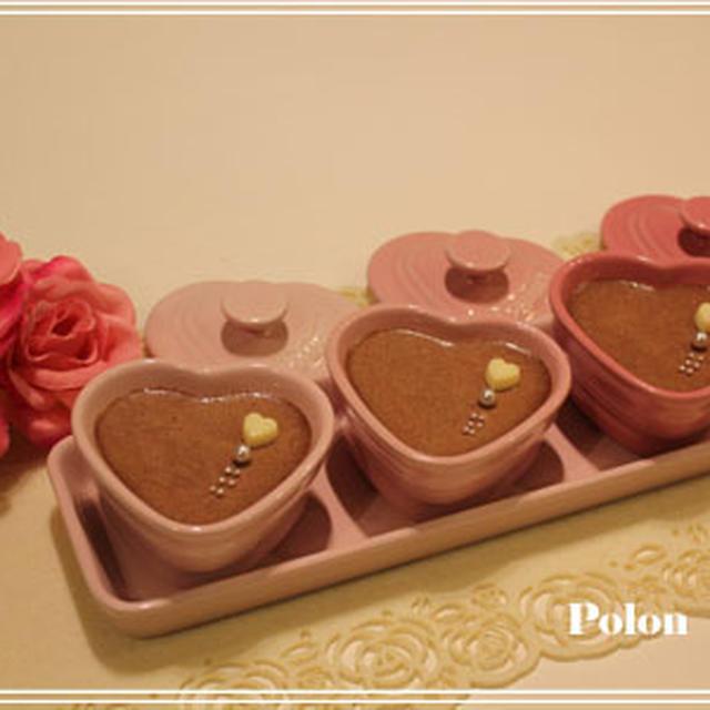 バレンタインリコッタとチョコのデザートレシピ~オイスターバーでバースデー