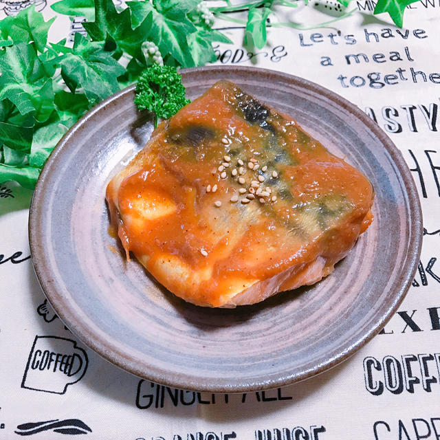 染み染み♡鯖の味噌煮