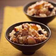 鶏とさつまいもの中華風炊き込みご飯