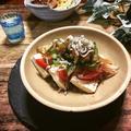 料理教室☆トマトと茗荷のしらす冷ややっこ