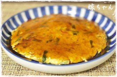 フワフワ食感♪お豆腐入りのカニカマでかに玉風。