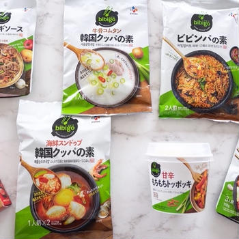 韓国レトルト食品de冷凍ストックアイディア