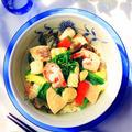 タイの香り♪海鮮中華丼 ★『奇跡の野菜ビーツ』生が一番!くらしのアンテナ掲載
