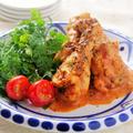 鶏肉のトマトクリーム煮込み
