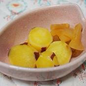 さつまいもとりんごの煮物〜シナモン風味〜