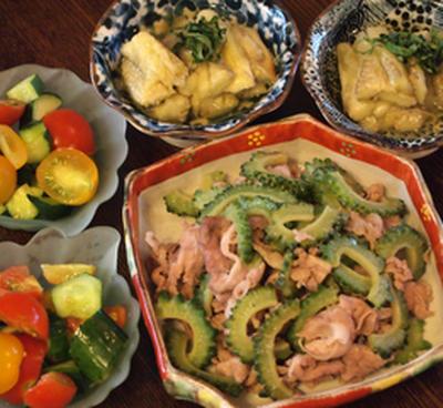 ゴーヤと豚肉のシンプル炒め