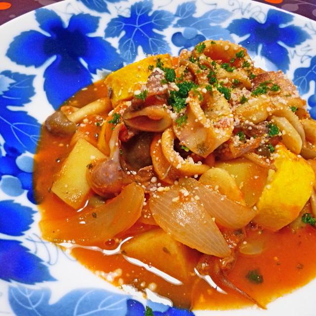 ヤリイカのトマト煮