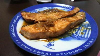 鮭の生姜焼き