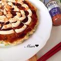 春キャベツたっぷり♡ヘルシー!豆腐のお好み焼き