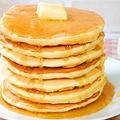 【ホットケーキミックスで簡単♪】パンケーキ♪アメリカンスタイル&ジャパニーズスタイル by HiroMaruさん