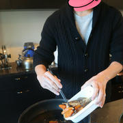 旦那がお昼ごはんを作ってくれました。