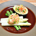 フレッシュサルサでサラダ【ぐんまクッキングアンバサダー】お野菜だけでも大満足な一皿。