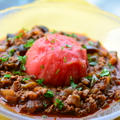 メキシコの香り ★ 夏野菜と挽肉の太陽のスープ by Marikoさん