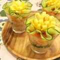グラスで簡単!花ちらし寿司