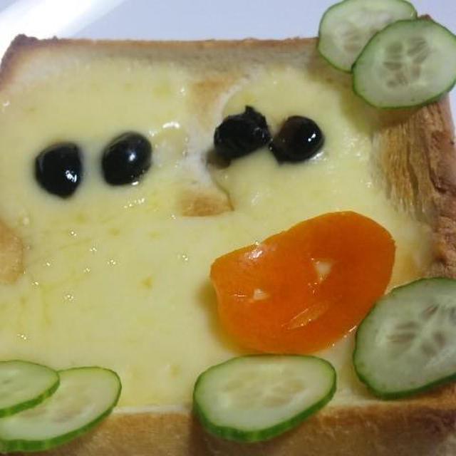 Q.B.Bとろける~スライスチーズ で~デコパン~