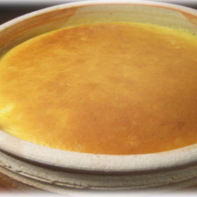 ドラ鉢でチーズケーキニューヨーク風♪