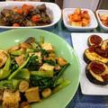 スリープクリニック ~ 鶏レバーの甘辛煮 ~ 茄子とドライトマト(レンジでチン)