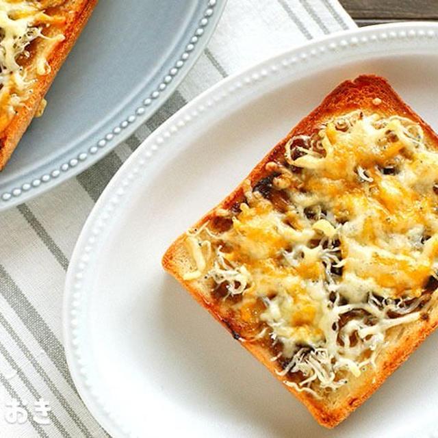 しらすのりチーズトースト