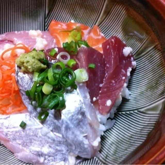 塩麹であっさりだけど風味UPの海鮮丼