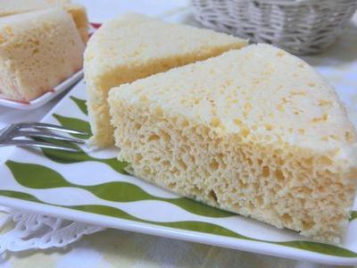 レンチン4分でふわふわ♪ ヨーグルトとおからパウダーでチーズケーキ風