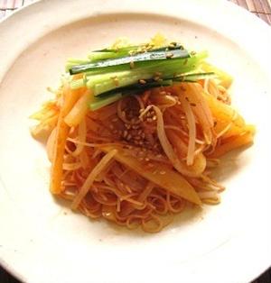韓国風和え麺