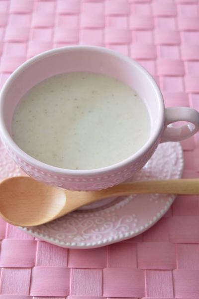 椎茸とじゃがいものポタージュ 秋味の濃厚スープです♪【GABANスパイス大使】