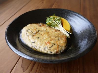 大豆入り豆腐ハンバーグ