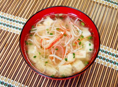 カニカマの本格中華スープ